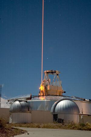 Starfield Optical Range - sodium laser