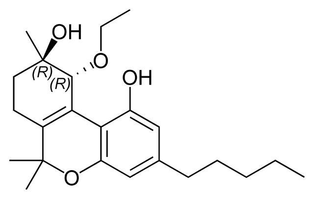 File:Trans-cannabitriol ethyl ether.png