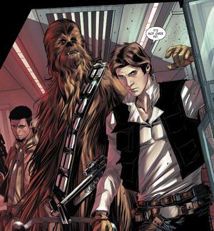 Han Chewie Kes em Endor