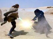 Darth Maul duela com Qui-Gon Jinn em Tatooine.jpg