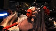 Anakin & Ahsoka kämpfen