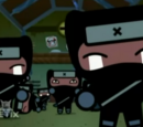 Tobe's ninjas