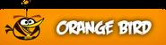 Orange-bird-button