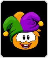 Orange-puf