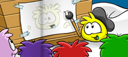 White Puffle (I could draw one better)