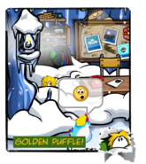 Gold Puffle