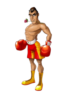 Don flamenco punch out wiki fandom powered by wikia for What is a punch out list