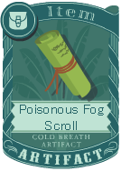 Poisonous Fog Scroll