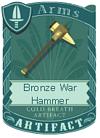 Bronze War Hammer