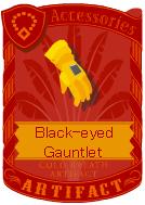 Black-eyed Gauntlet