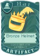 Bronze Helmet 3