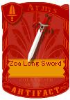 Zoa Beast Long Sword