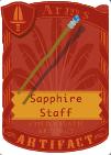 Sapphire Staff