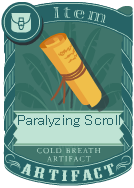 Paralyzing scroll