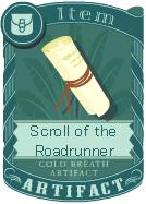 Scroll of the Roadrunner