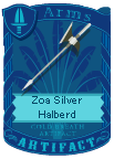 Zoa Silver Halberd