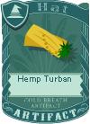 Hemp Turban 2
