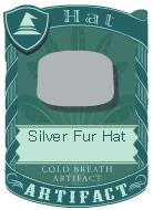 Silver Fur Hat