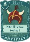 High Bronze Helmet 2