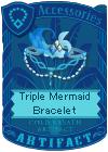 Triple Mermaid Bracelet