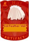 Sol Feather Veil