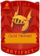 Gold Helmet 2