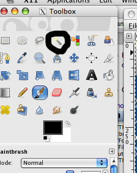 Magic Wand in GIMP