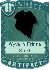 Wyvern Fringe Shirt