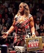 Hiroshi Tanahashi Tokyo Dome IWGP Heavyweight Championship challenge right certificate
