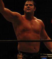 Davey Boy Smith Jr at NJPW DOMINION6.21
