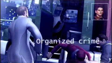 PSP - Pursuit Force 'Capelli Family Intro' (HD)