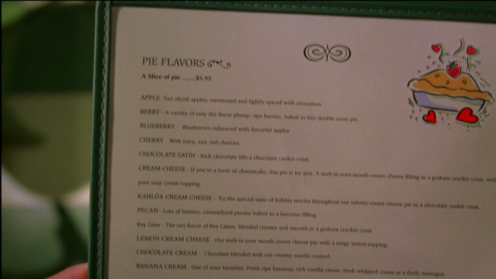 Wikia Daisies - Pie Hole Menu Pie Flavors