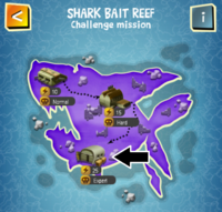 SHARK BAIT REEF (EXPERT) map