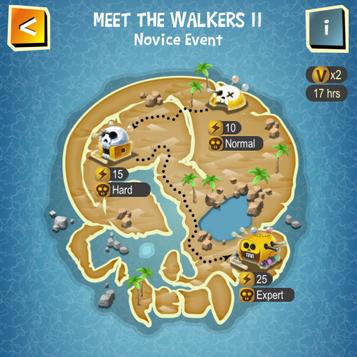 MEET THE WALKERS II map