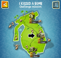 I KISSED A BOMB (EXPERT) map
