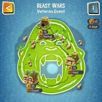 BEAST WARS map