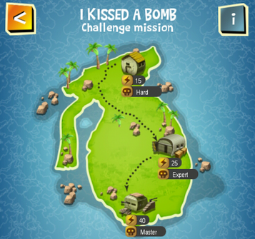 Special Event - I KISSED A BOMB map