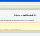 Unix phpMyAdmin Install