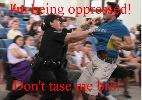 File:Don't tase me bro!.JPG