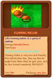 Flaming Melon2