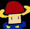Plantlanders Saturn-shroom figure