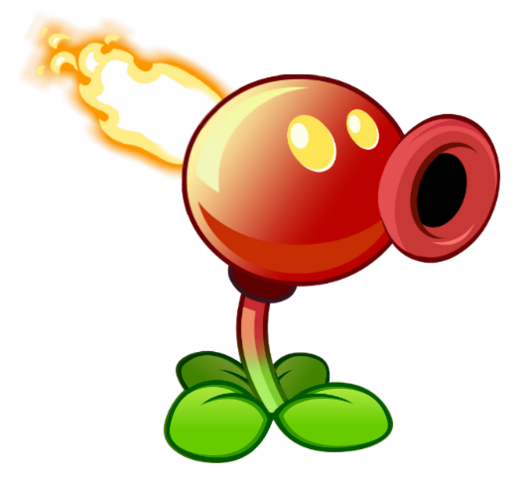 File:Fire Pea, the fire variant.png