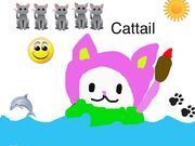 Another Cattail drawing
