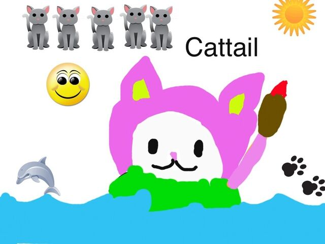 File:Another Cattail drawing.jpg