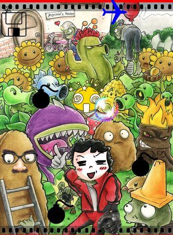 File:Plants vs Zombies by Merinid DE.jpg