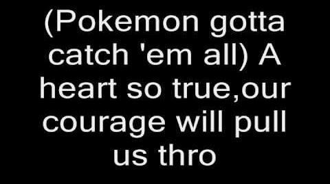 Pokemon Original Theme Song Lyrics (Long version)