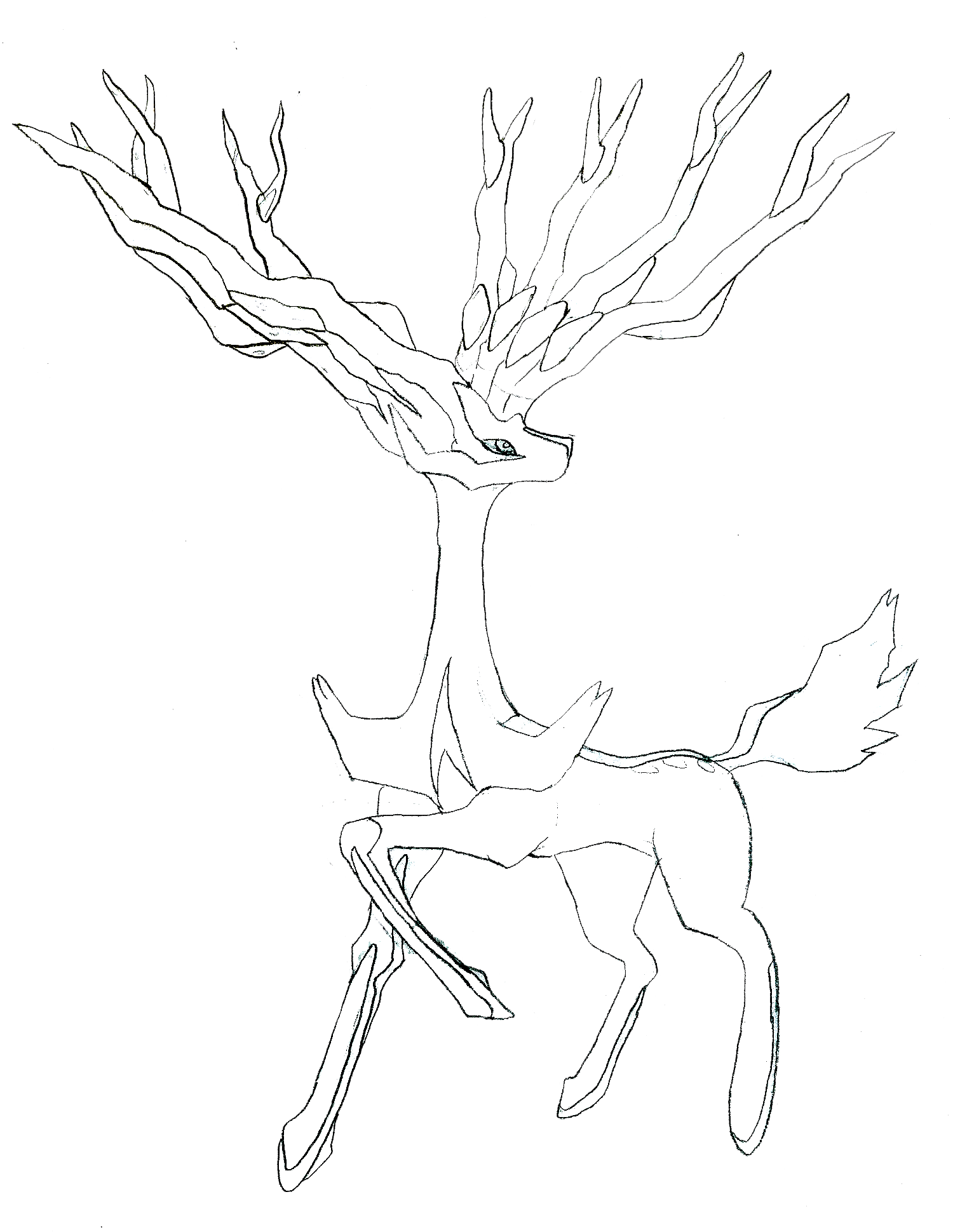 Pokemon Ausmalbilder Yveltal : Pokemon Coloring Pages Xerneas Best Ideas For Printable And