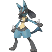 Lucario Artwork