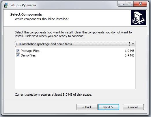 PySwarm Setup Image 4