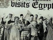 Weasley Family in Egypt